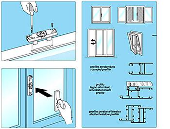 Medal maniglie e accessori per porte e finestre maniglie maniglie pvd carrelli per infissi - Meccanismo cremonese finestra ...
